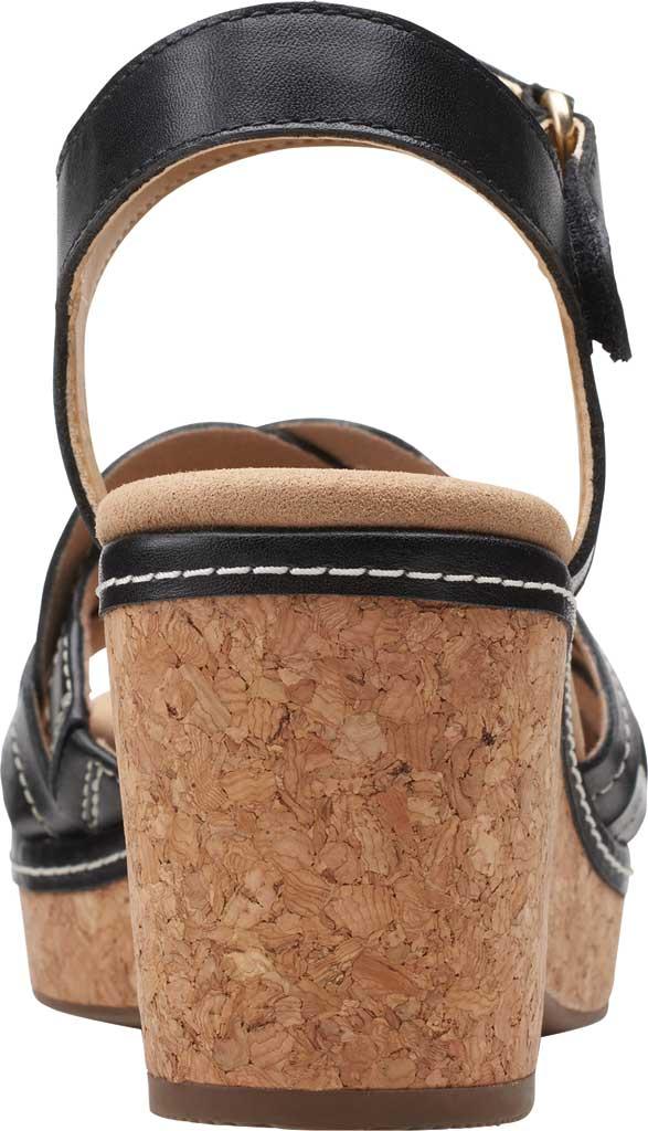 Women's Clarks Giselle Coast Ankle Strap Wedge Sandal, , large, image 4