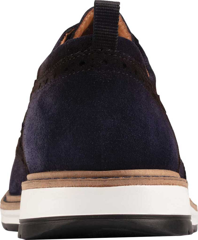 Men's Clarks Chantry Wing Tip Oxford, Navy Suede, large, image 4