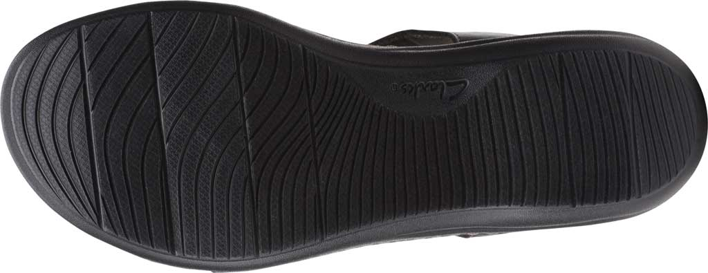 Women's Clarks Laurieann Kay Strappy Slingback Sandal, Black Leather, large, image 6