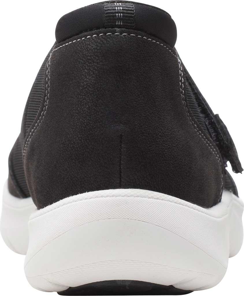 Women's Clarks Adella West Mary Jane Sneaker, Black Textile, large, image 4