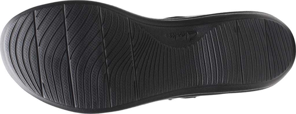 Women's Clarks Laurieann Remi Strappy Sandal, Black Nubuck, large, image 6