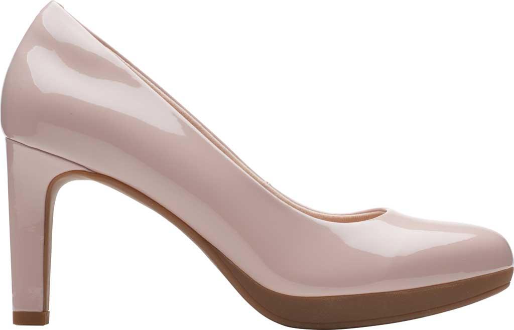 Women's Clarks Ambyr Joy High Heel Pump, Dusty Rose Patent Synthetic, large, image 2