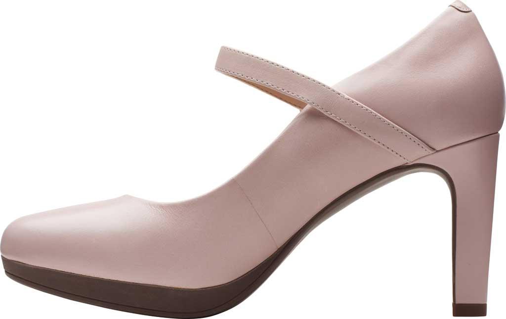 Women's Clarks Ambyr Shine High Heel Mary Jane, Dusty Rose Leather, large, image 3
