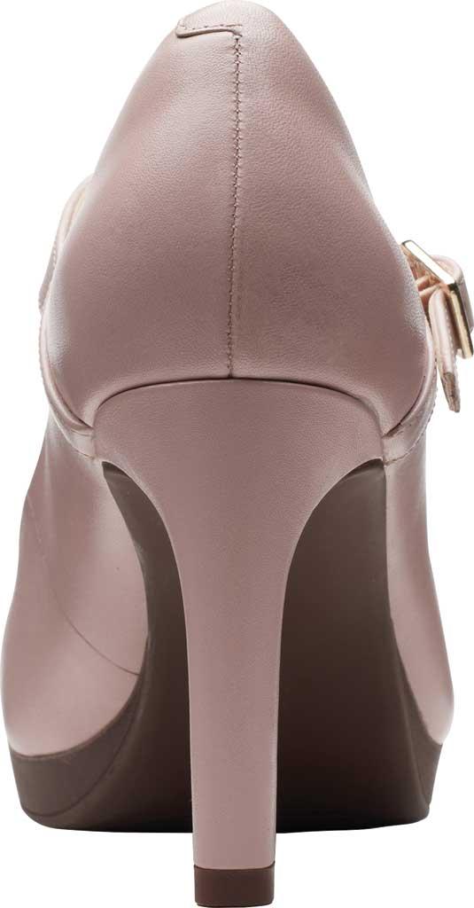Women's Clarks Ambyr Shine High Heel Mary Jane, Dusty Rose Leather, large, image 4