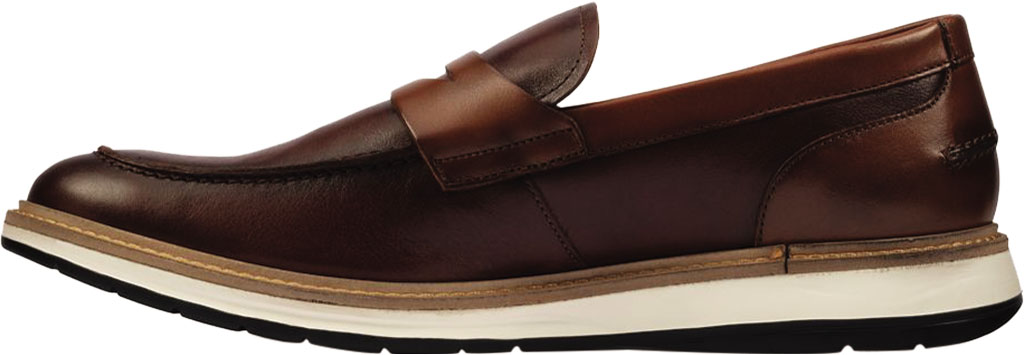 Men's Clarks Chantry Penny Loafer, Tan Leather, large, image 3