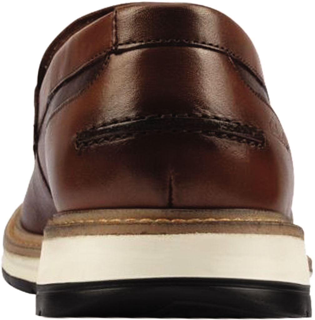 Men's Clarks Chantry Penny Loafer, Tan Leather, large, image 4