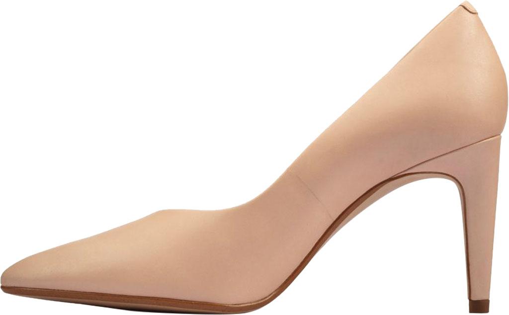 Women's Clarks Genoa85 Court High Heel Pump, Light Pink Leather, large, image 3