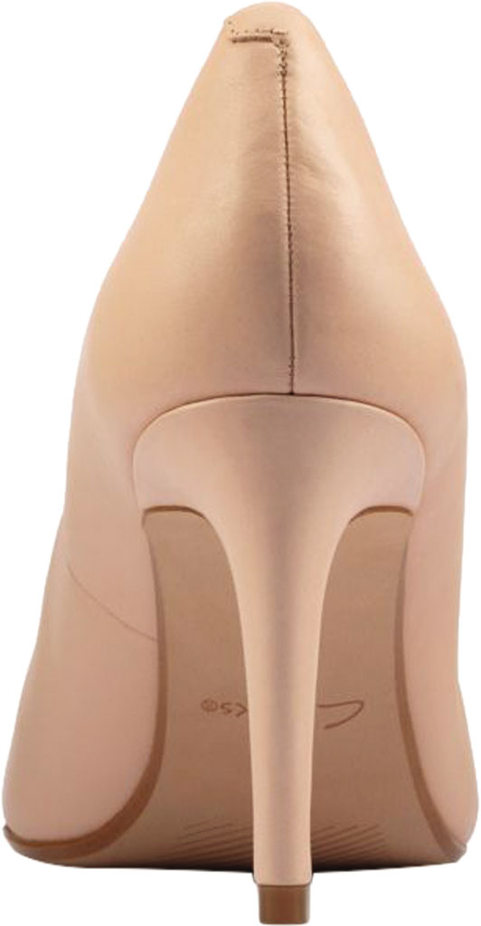 Women's Clarks Genoa85 Court High Heel Pump, Light Pink Leather, large, image 4