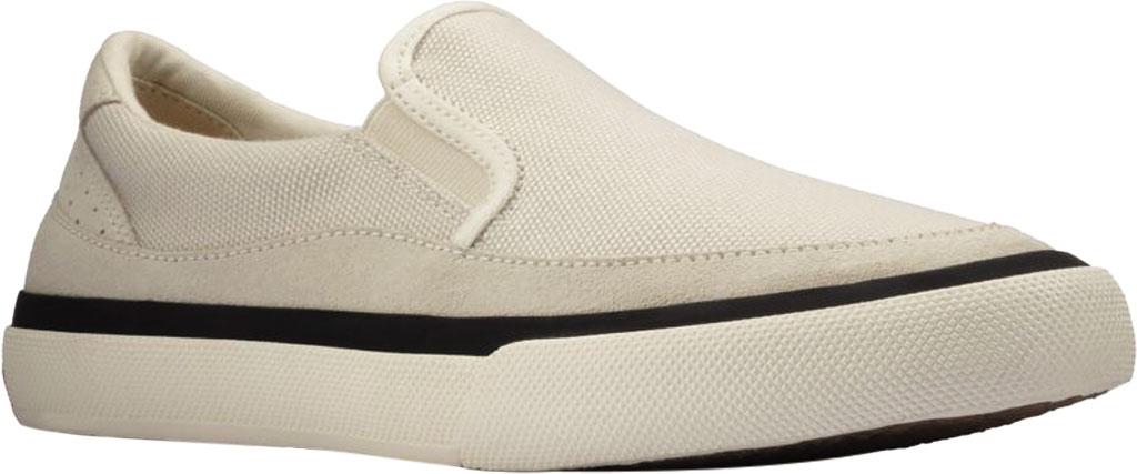 Women's Clarks Aceley Step Slip On Sneaker, White Canvas, large, image 1