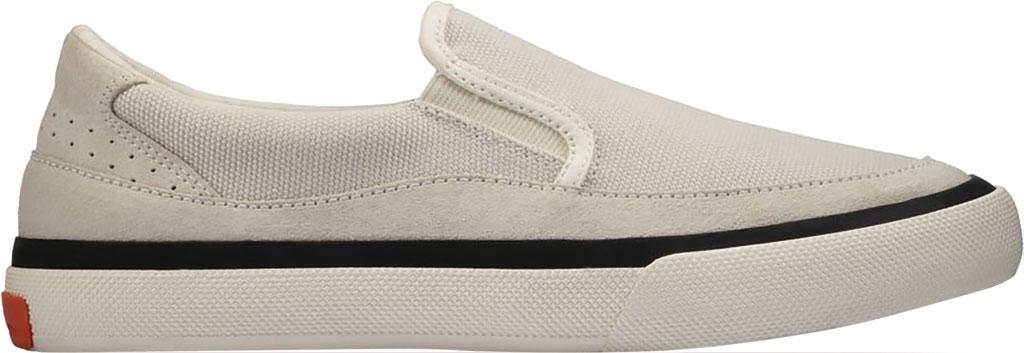 Women's Clarks Aceley Step Slip On Sneaker, White Canvas, large, image 2
