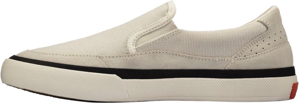 Women's Clarks Aceley Step Slip On Sneaker, White Canvas, large, image 3