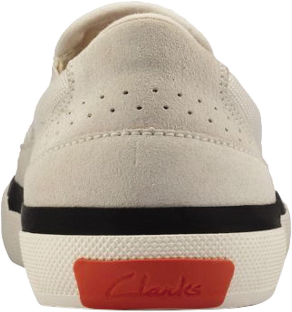 Women's Clarks Aceley Step Slip On Sneaker, White Canvas, large, image 4
