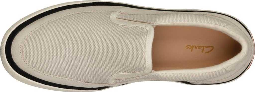 Women's Clarks Aceley Step Slip On Sneaker, White Canvas, large, image 5