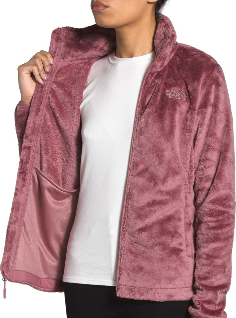 Women's The North Face Osito Fleece Jacket, Mesa Rose, large, image 4
