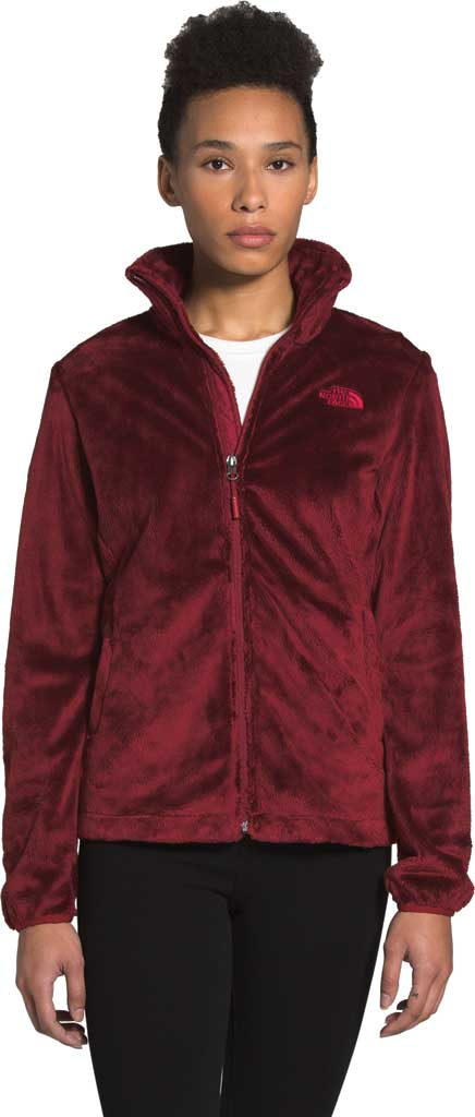 Women's The North Face Osito Fleece Jacket, Pomegranate, large, image 1