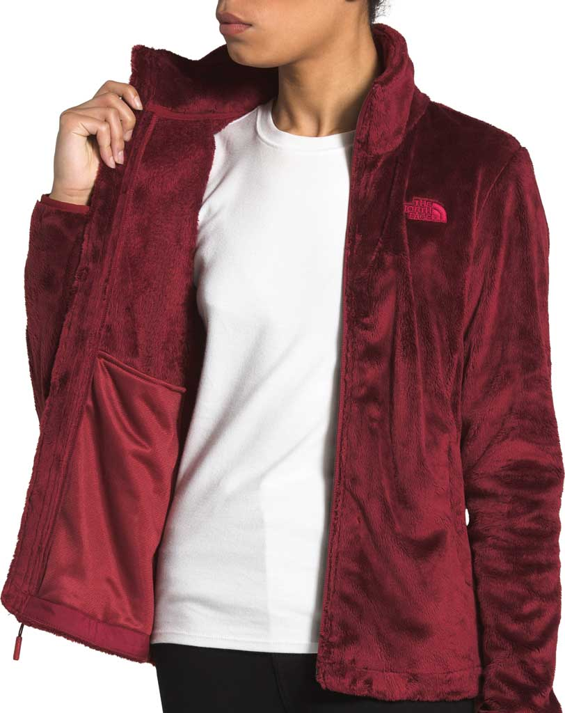 Women's The North Face Osito Fleece Jacket, Pomegranate, large, image 3