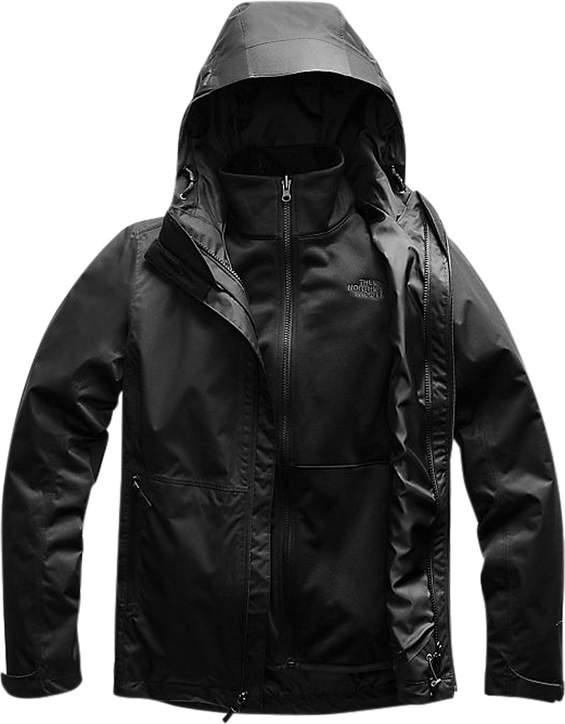 Women's The North Face Arrowood Triclimate Jacket, TNF Black/TNF Black, large, image 1
