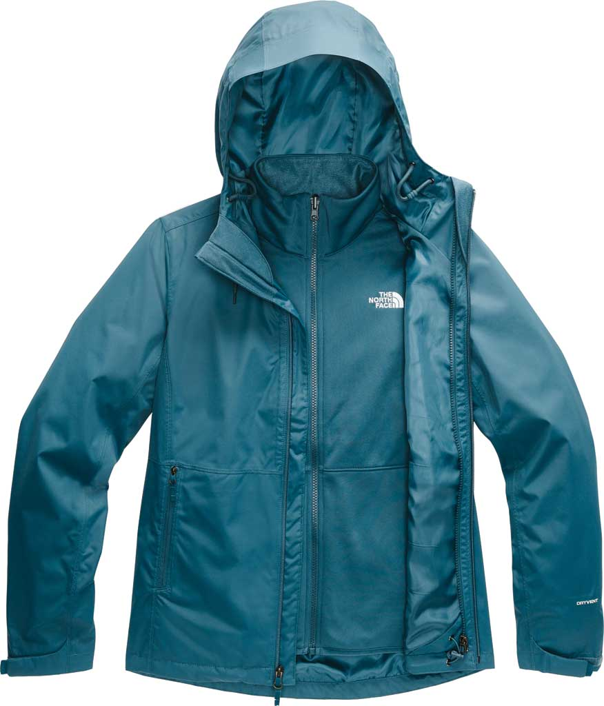 Women's The North Face Arrowood Triclimate Jacket, Mallard Blue, large, image 1
