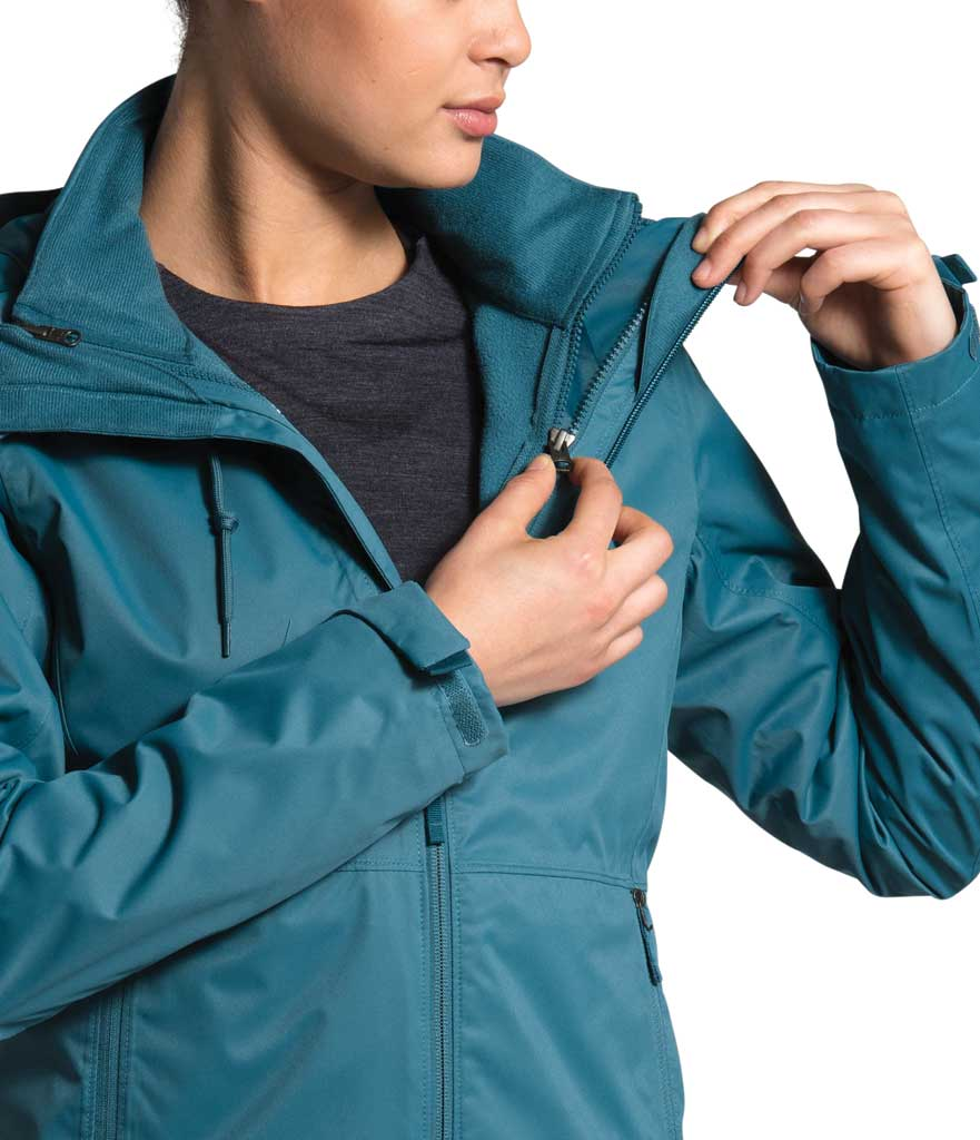 Women's The North Face Arrowood Triclimate Jacket, Mallard Blue, large, image 4