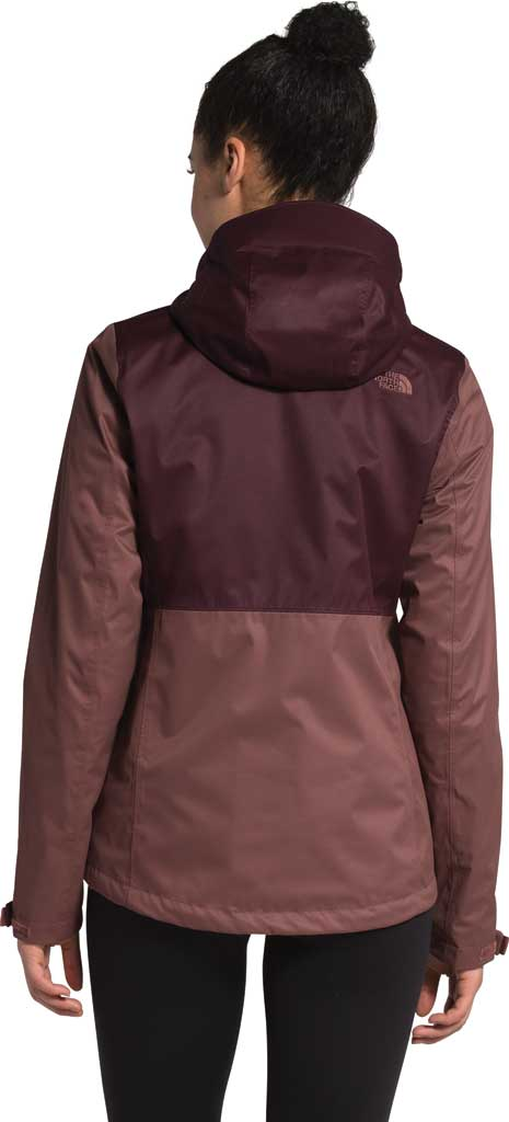 Women's The North Face Arrowood Triclimate Jacket, Marron Purple/Root Brown, large, image 2