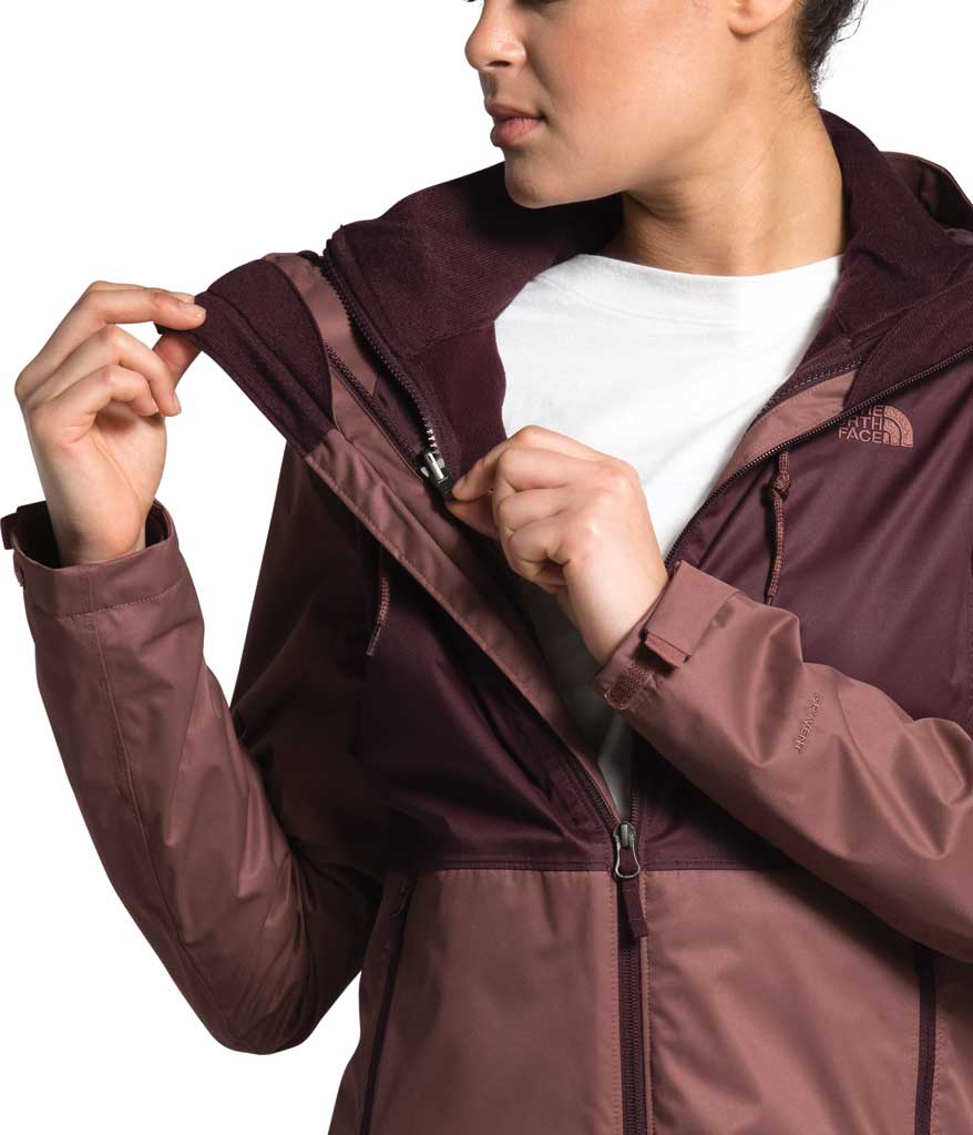Women's The North Face Arrowood Triclimate Jacket, Marron Purple/Root Brown, large, image 4