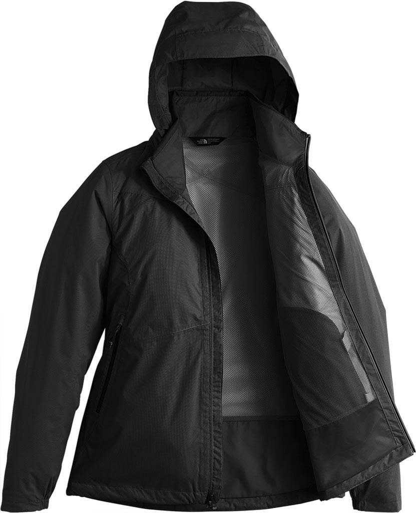 Women's The North Face Resolve Plus Jacket, TNF Black/TNF Black, large, image 2