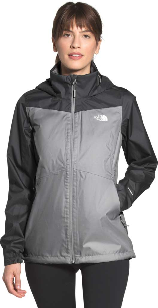 Women's The North Face Resolve Plus Jacket, Meld Grey/Asphalt Grey, large, image 1