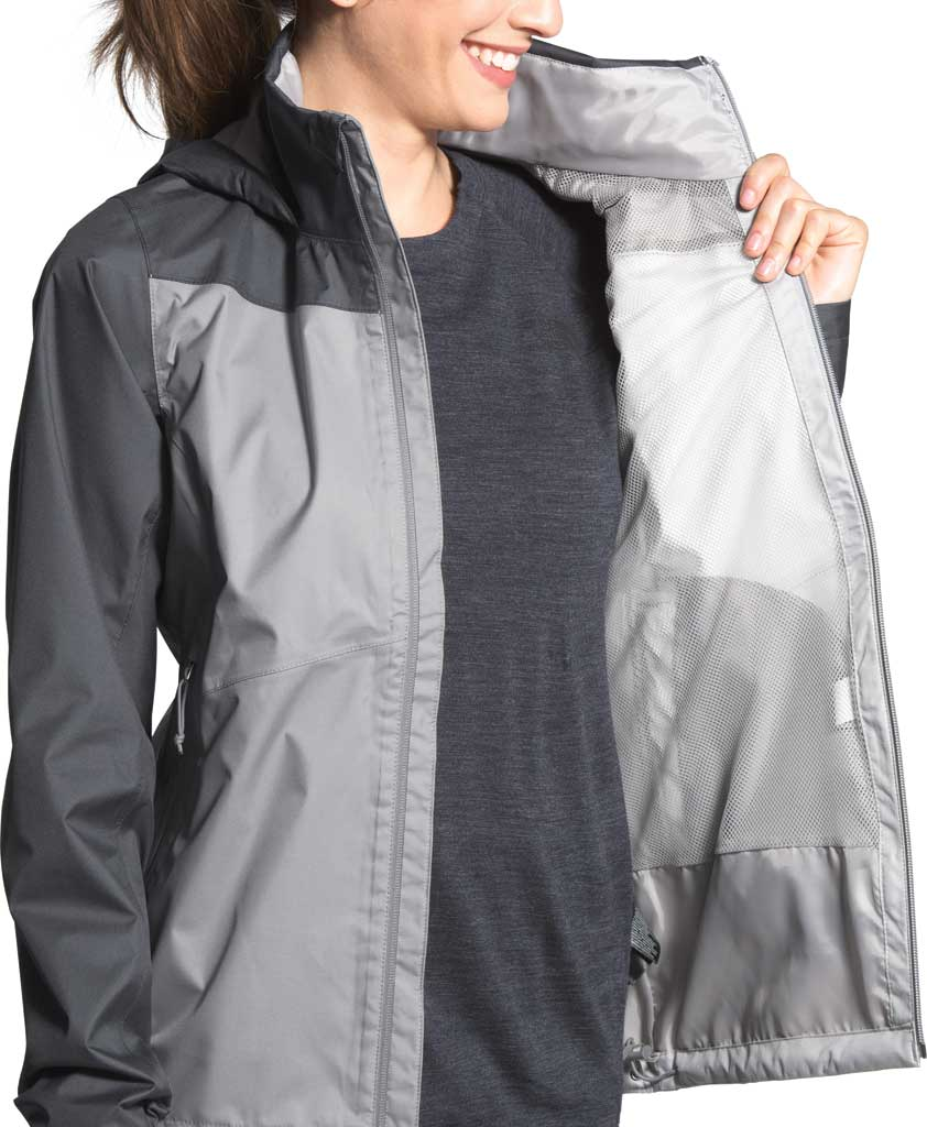 Women's The North Face Resolve Plus Jacket, TNF Black/TNF Black, large, image 4