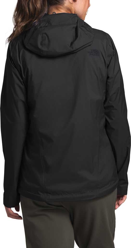 Women's The North Face Venture 2 Jacket, TNF Black/TNF Black, large, image 2