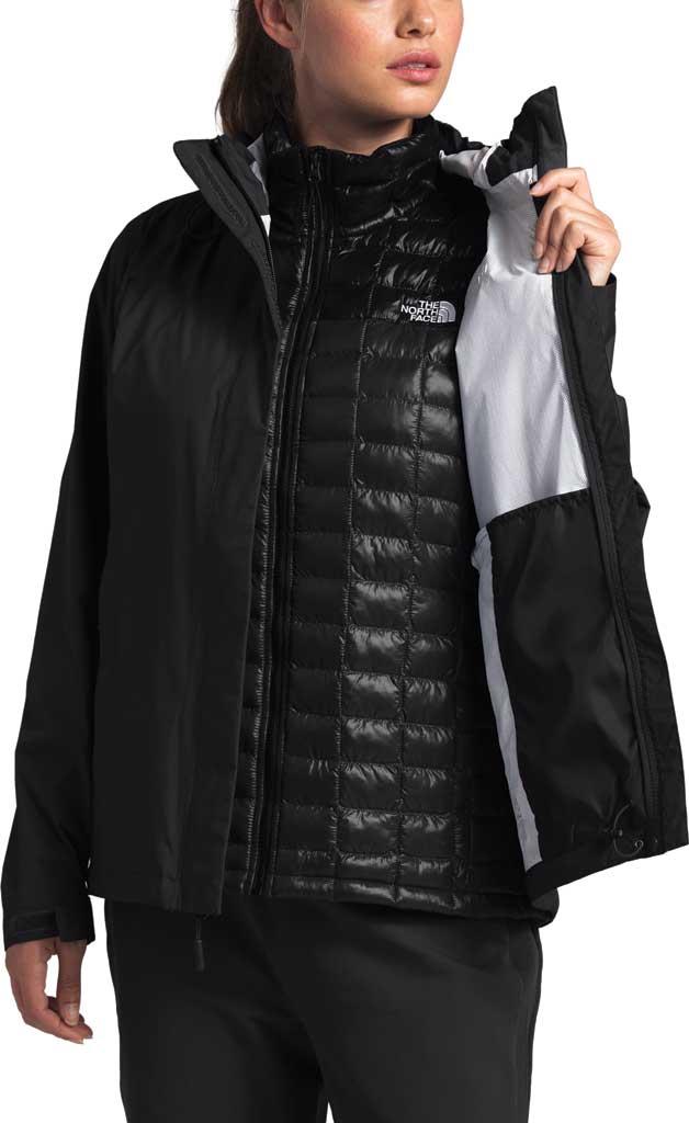 Women's The North Face Venture 2 Jacket, TNF Black/TNF Black, large, image 4