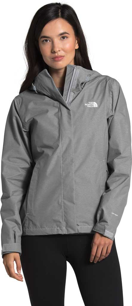 Women's The North Face Venture 2 Jacket, TNF Medium Grey Heather/TNF Medium Grey Heather, large, image 1