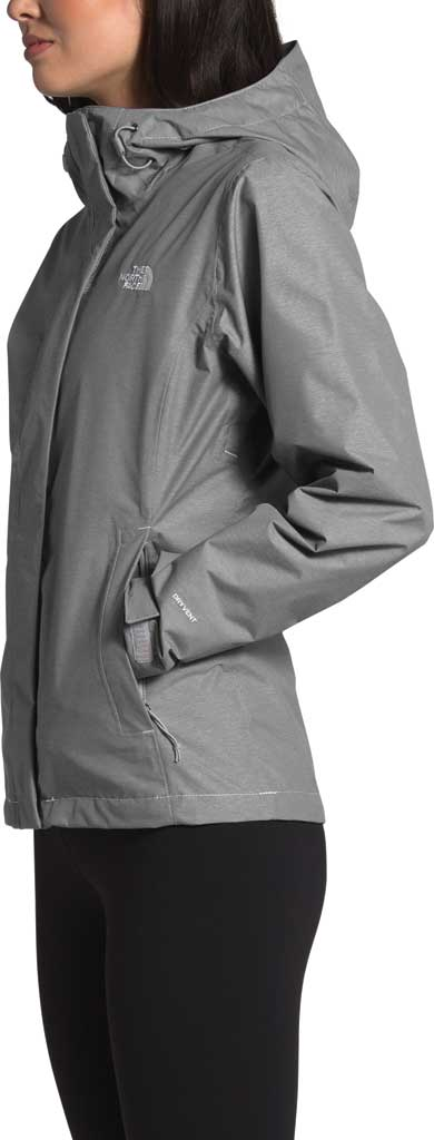 Women's The North Face Venture 2 Jacket, TNF Medium Grey Heather/TNF Medium Grey Heather, large, image 3