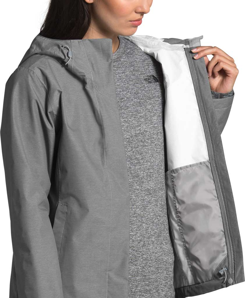 Women's The North Face Venture 2 Jacket, TNF Medium Grey Heather/TNF Medium Grey Heather, large, image 4