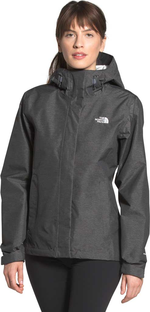 Women's The North Face Venture 2 Jacket, TNF Dark Grey Heather/TNF Dark Grey Heather, large, image 1