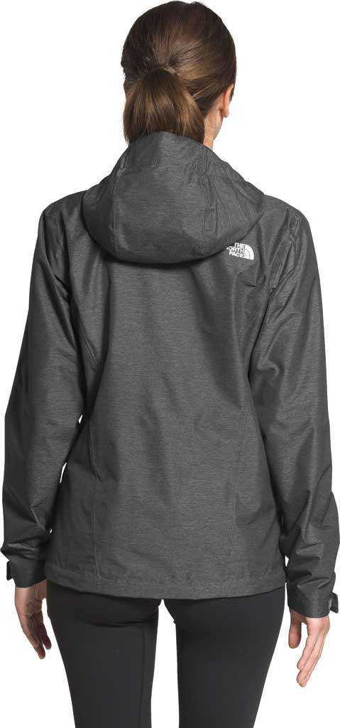 Women's The North Face Venture 2 Jacket, TNF Dark Grey Heather/TNF Dark Grey Heather, large, image 2