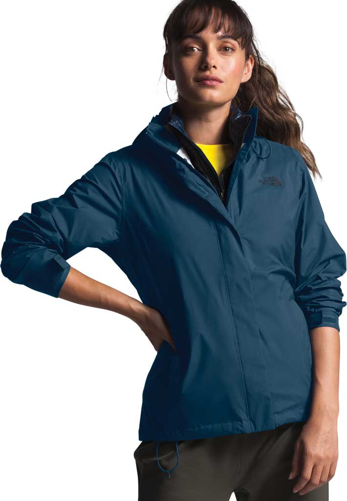 Women's The North Face Venture 2 Jacket, Blue Wing Teal, large, image 3