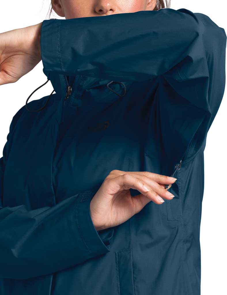 Women's The North Face Venture 2 Jacket, Blue Wing Teal, large, image 4