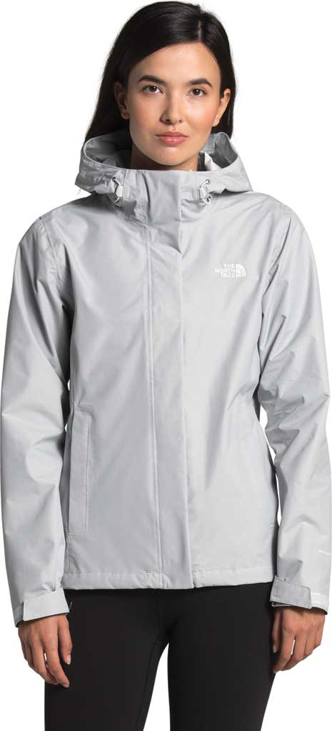 Women's The North Face Venture 2 Jacket, TNF Light Grey Heather/TNF Light Grey Heather, large, image 1