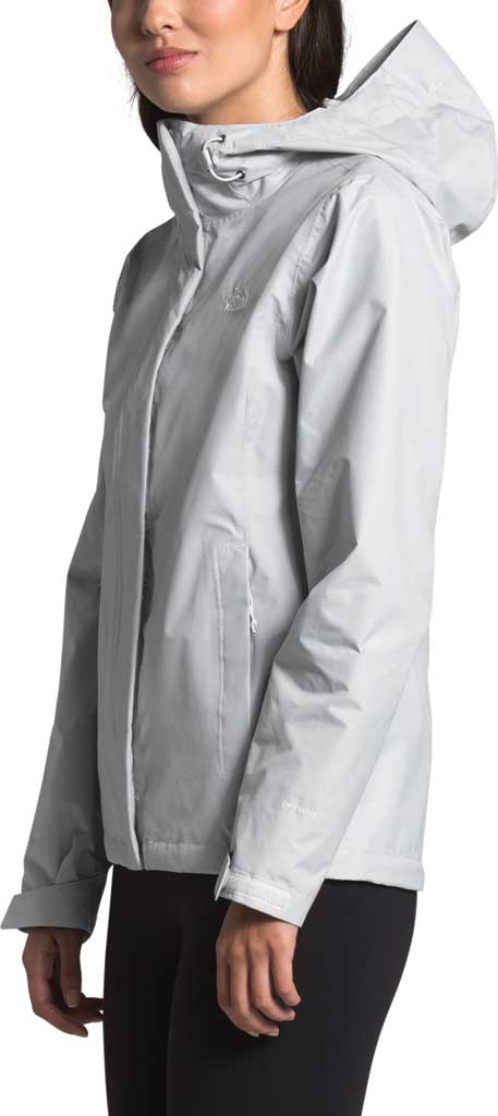 Women's The North Face Venture 2 Jacket, TNF Light Grey Heather/TNF Light Grey Heather, large, image 3