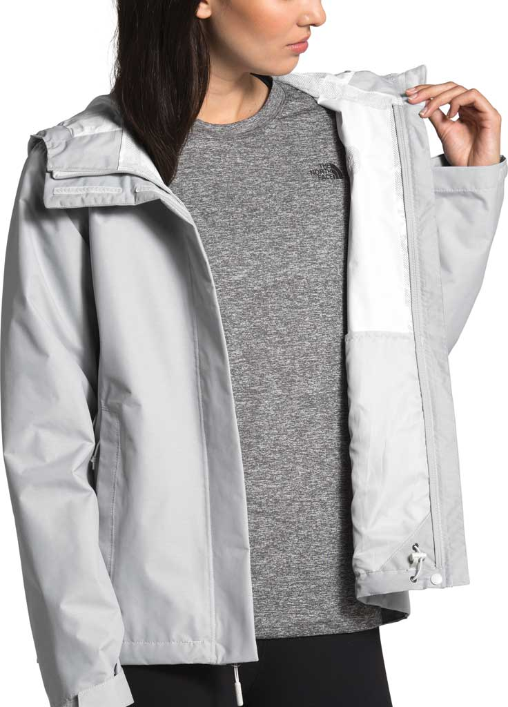 Women's The North Face Venture 2 Jacket, TNF Light Grey Heather/TNF Light Grey Heather, large, image 4