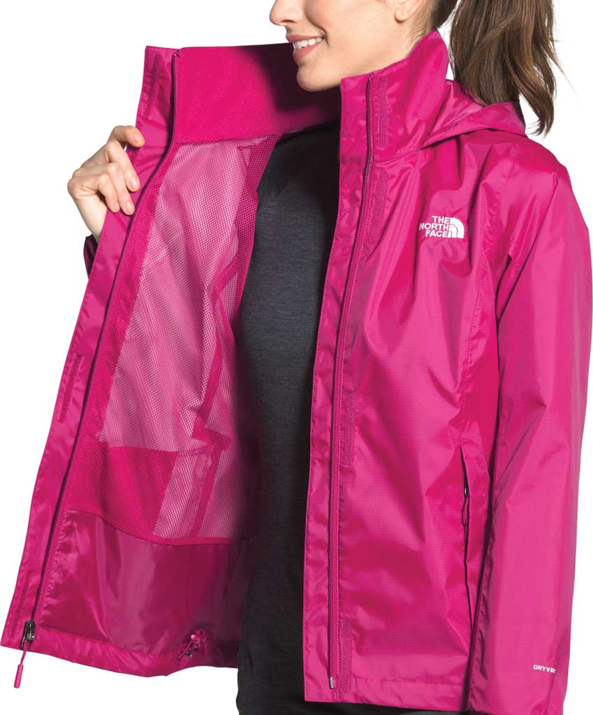 Women's The North Face Resolve 2 Jacket, Dramatic Plum, large, image 4