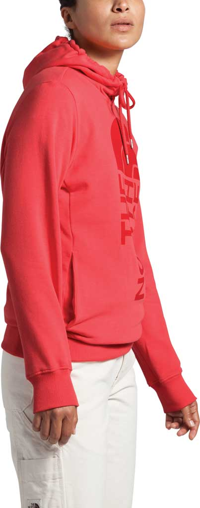 Women's The North Face Trivert Pullover Hoodie, Cayenne Red, large, image 3