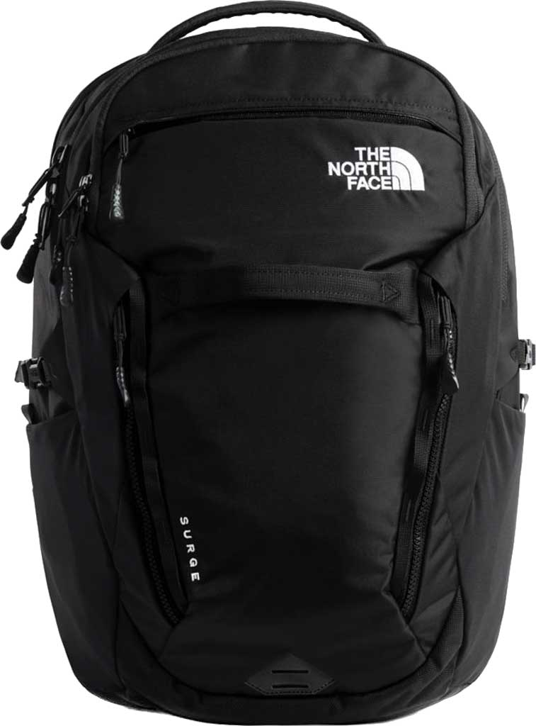 Women's The North Face Surge Backpack, TNF Black, large, image 1