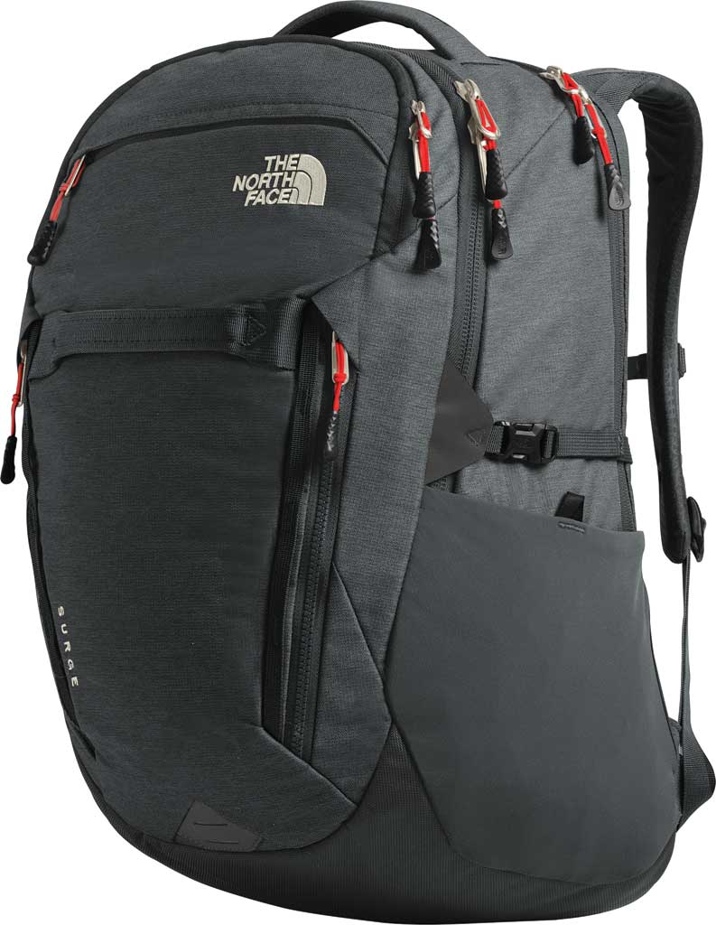 Women's The North Face Surge Backpack, TNF Black, large, image 3