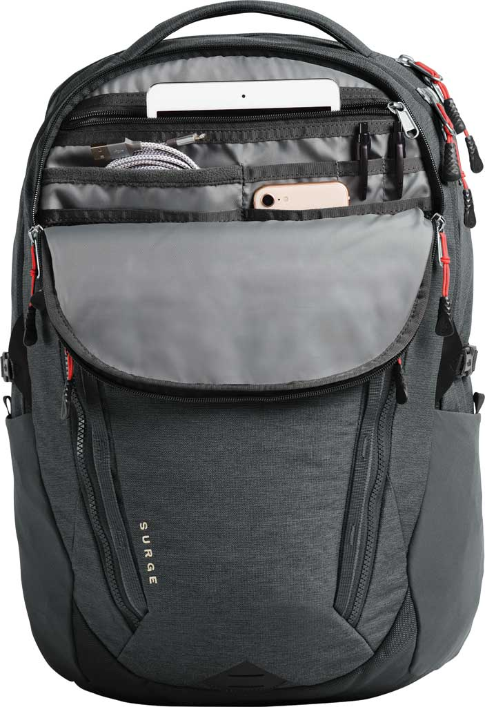 Women's The North Face Surge Backpack, TNF Black, large, image 4