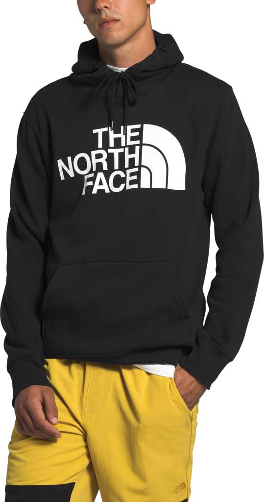 Men's The North Face Half Dome Hooded Pullover, TNF Black, large, image 1