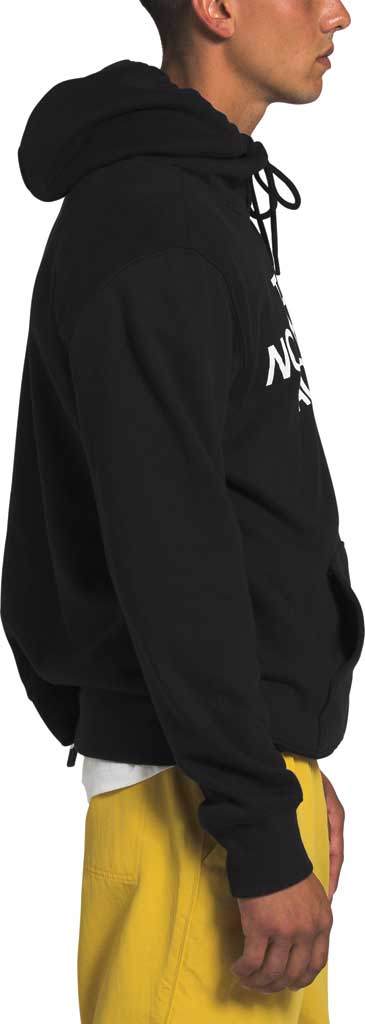 Men's The North Face Half Dome Hooded Pullover, TNF Black, large, image 3