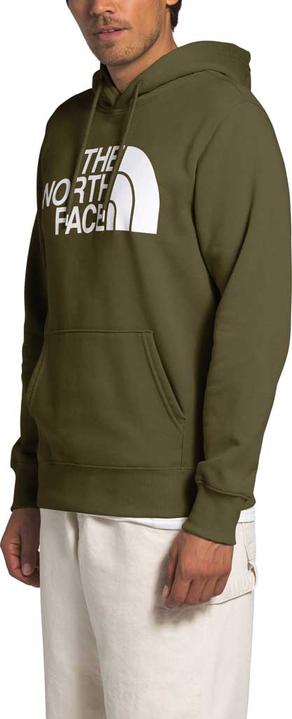 Men's The North Face Half Dome Hooded Pullover, Burnt Olive Green, large, image 3