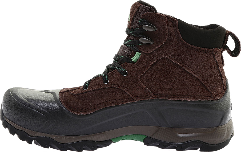 Men's The North Face Snowfuse Waterproof Boot, Ganache Brown/Sullivan Green, large, image 3