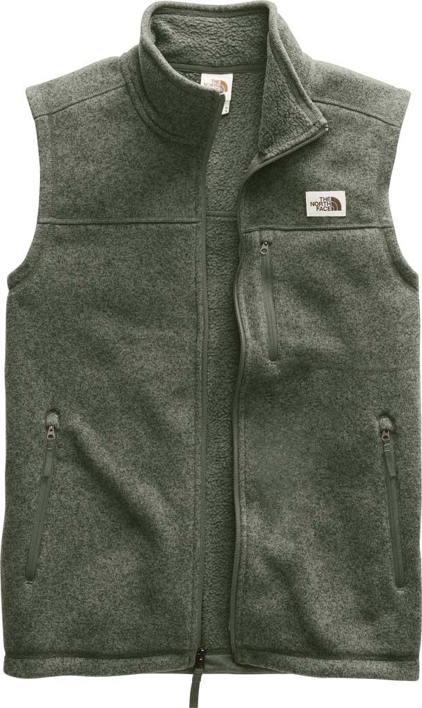 Men's The North Face Gordon Lyons Vest, New Taupe Green Heather, large, image 1